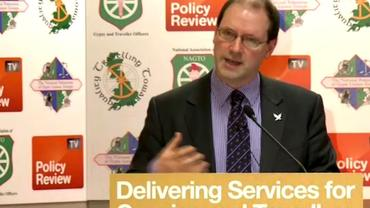 Stuart Hoggan explains new measures affecting travelling communities and councils