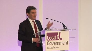 Hugh Robertson MP spoke of 'regeneration' and 'legacy'
