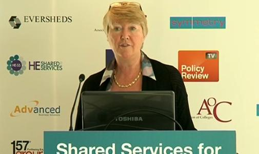 Bobbie McClelland at Shared Services for Further Education � Strategies for Results