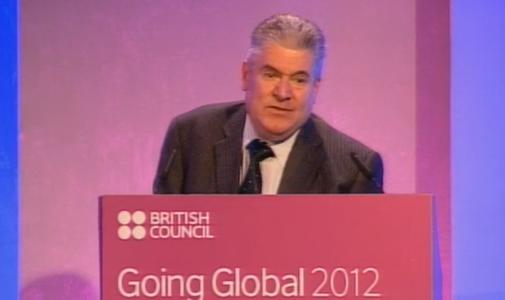 Martin G Bean, Vice-Chancellor of the Open University addresses Going Global 2012